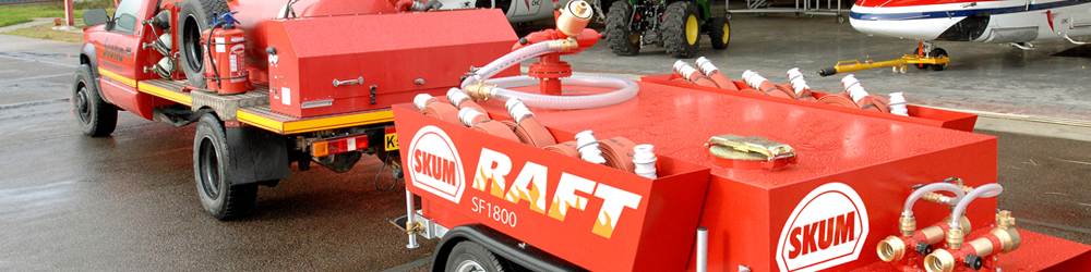 SKUM: Firefighting Foam Concentrates and Hardware
